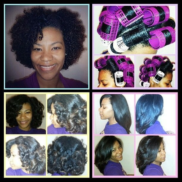The Best 19 Best Roller Wraps Images On Pinterest Natural Hair Pictures
