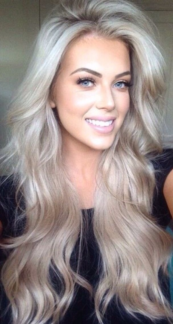 The Best Love This Ashy Blonde … Hair Tricks And Tips Hair Pictures