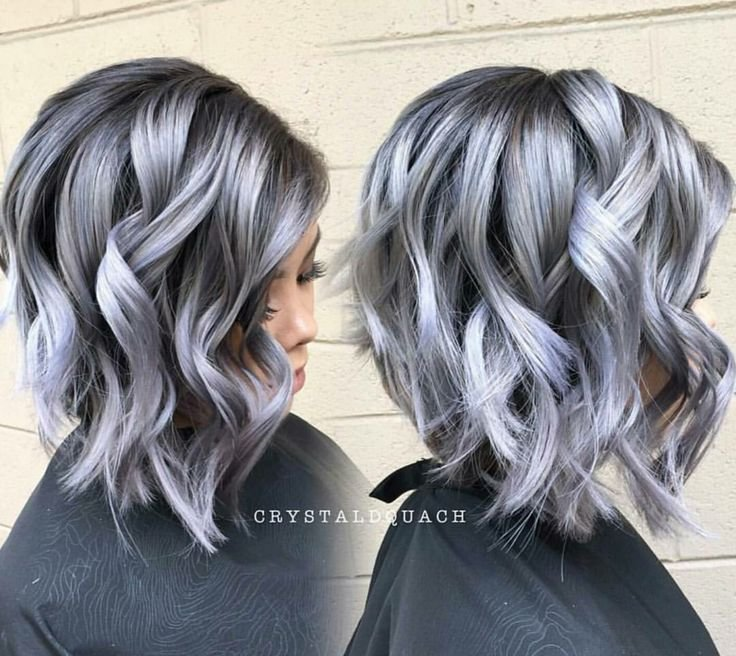 The Best Steel Shadow Haircolor Formula Hair Dyed Hair Hair Pictures
