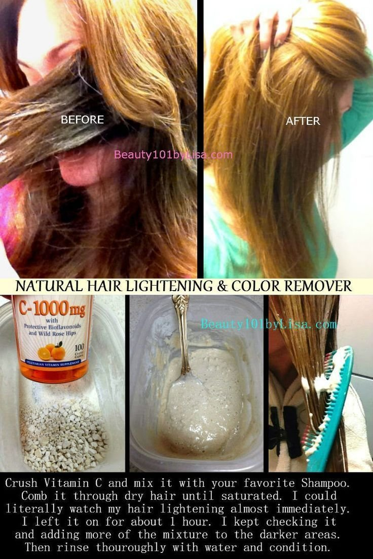 The Best Diy At Home Natural Hair Lightening Color Removal Beauty N Health Lighten Hair Naturally Pictures