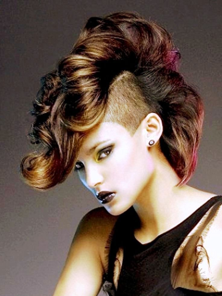 The Best Highligh Mohawk Hairstyles Women Braided And Mohawk Hair Pictures