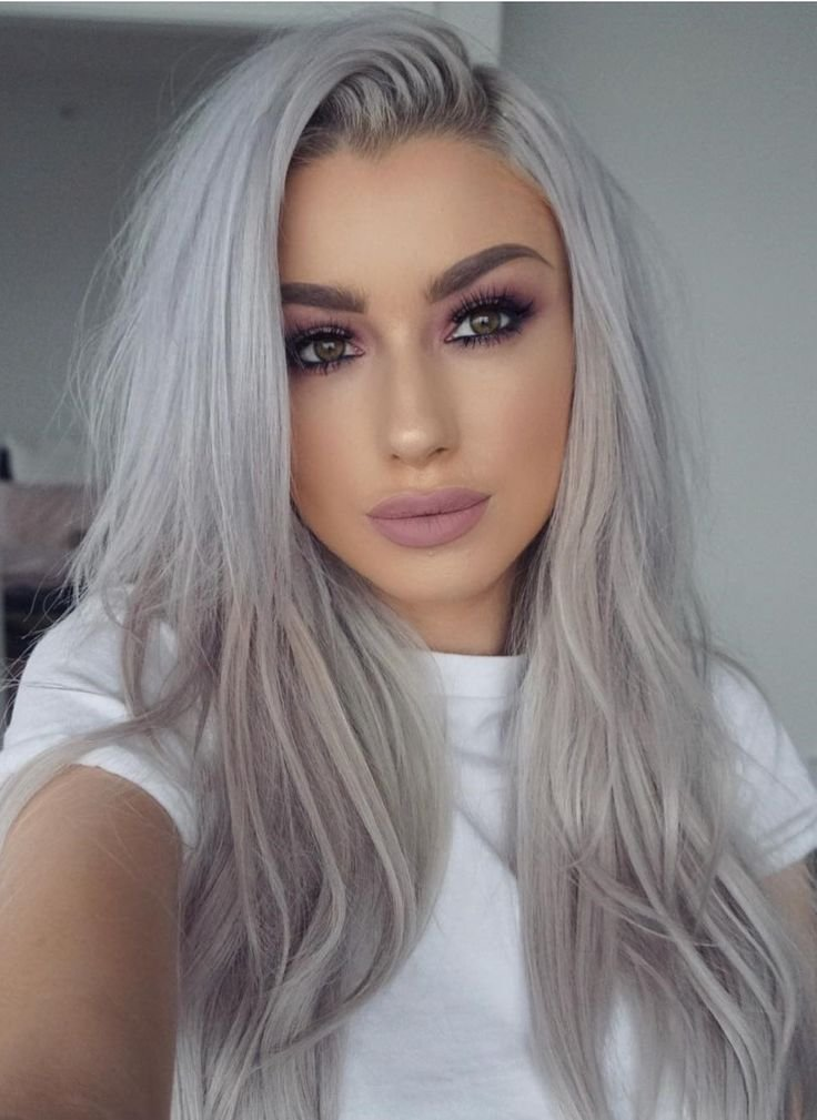 The Best 13 Grey Hair Color Ideas To Try Sue S Platinum Hair Pictures