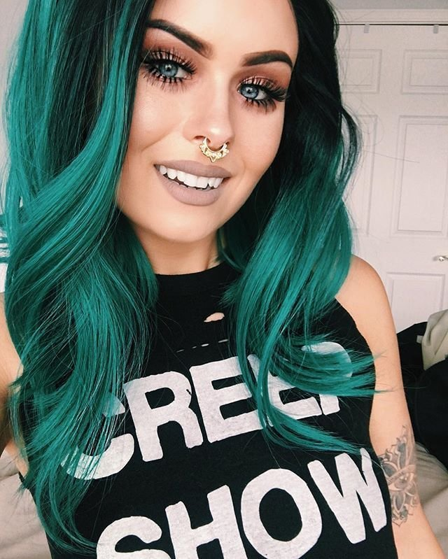 The Best Best 25 Emerald Hair Ideas On Pinterest Dark Green Hair Pictures
