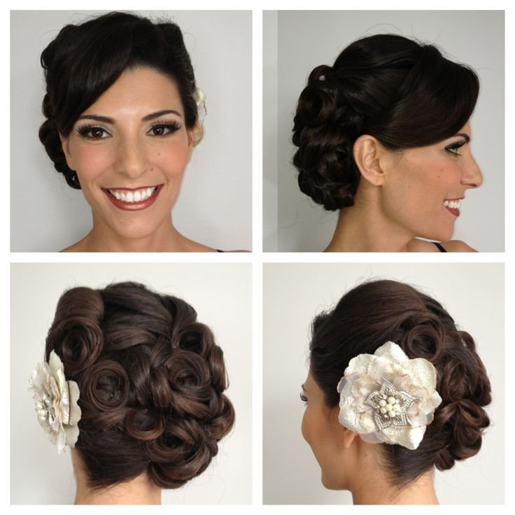 The Best Best 25 Pin Curl Updo Ideas On Pinterest Retro Updo Pictures