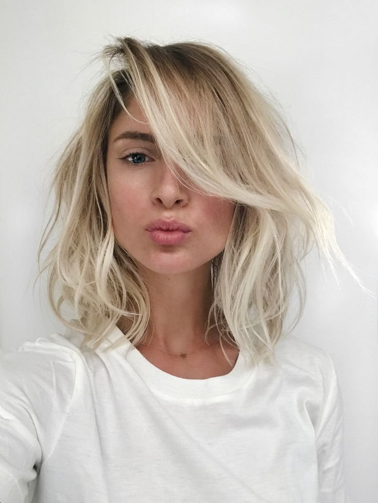 The Best Best 25 Blonde Lob Ideas On Pinterest Medium Blonde Bob Pictures