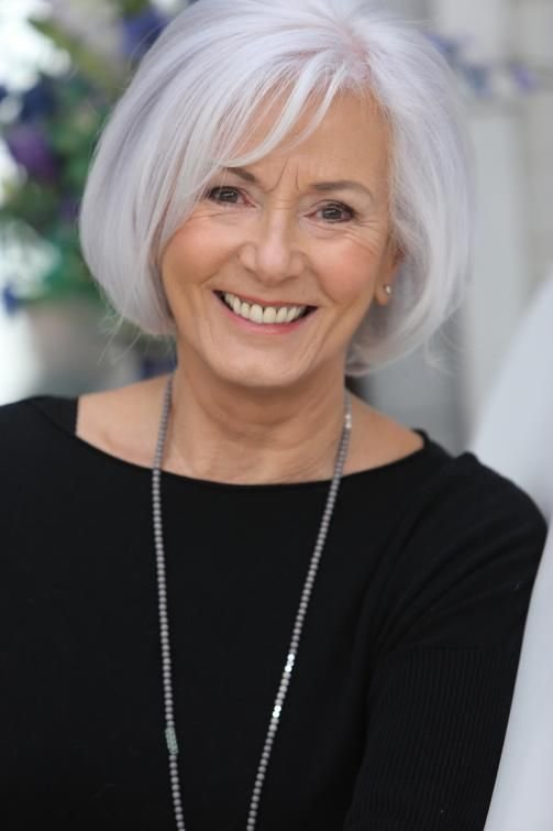 The Best 273 Best Gray Over 50 Hair Images On Pinterest Grey Pictures