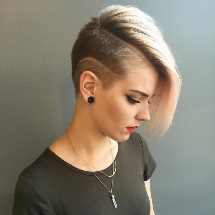 The Best 50 Best Shaved Hairstyles For Women In 2017 Trends In Pictures