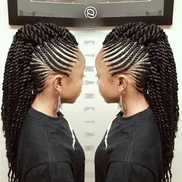 The Best Crochet Mohawk Braids In 2019 Natural Hair Styles Pictures