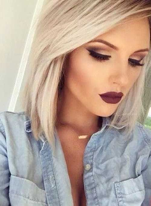 The Best 40 Good Short Blonde Hair Makeup Hair Makeup Makeup Pictures