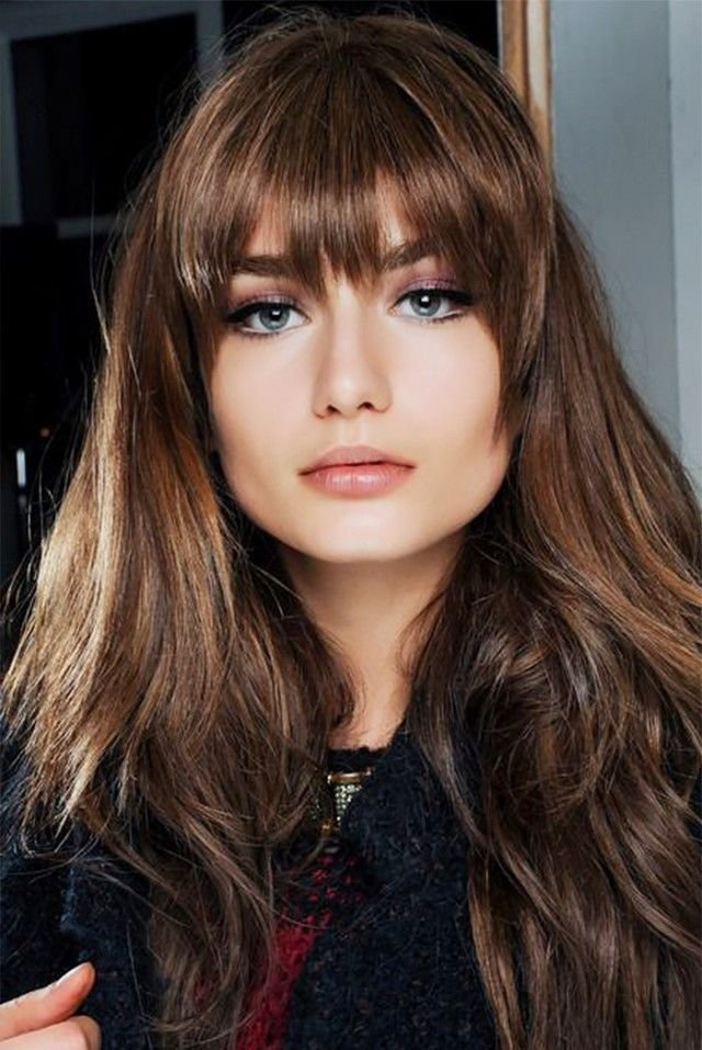 The Best Best 25 Thick Hair Bangs Ideas On Pinterest Thick Bangs Pictures