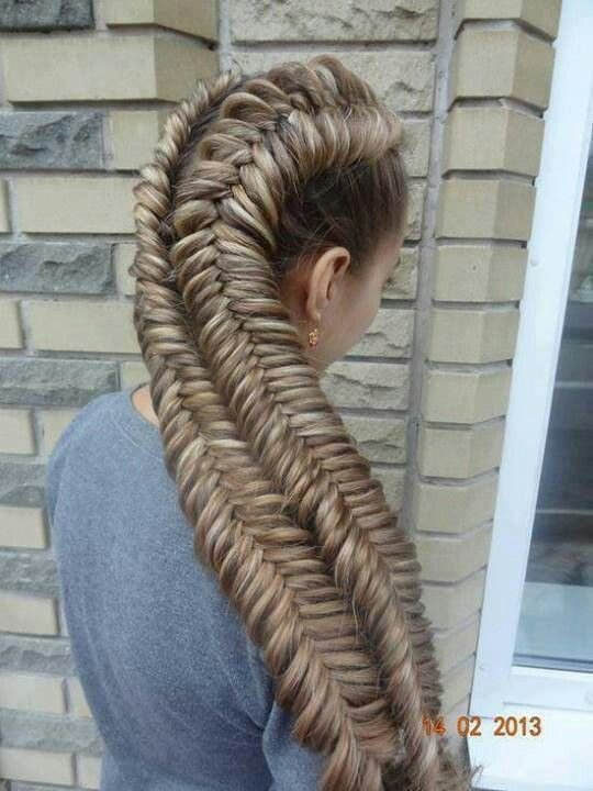 The Best Big Fish Braid This Is Crazy Long Animals Hair Pictures