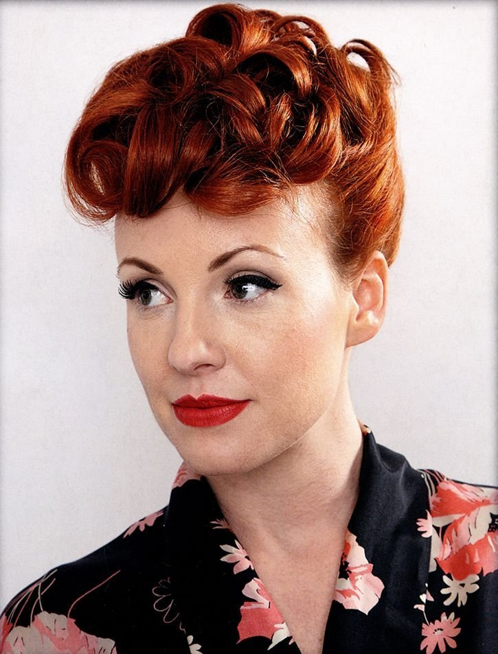 The Best The 1950 S Poodle Hairstyle Tutorial Hairstyleinsider Com Hair Makeup Poodle Hair Hair Pictures
