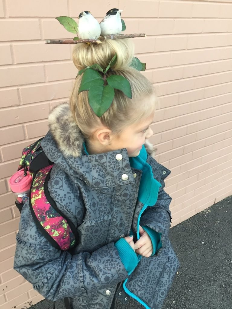 The Best Crazy Hair Day Bird S Nest Kids Everything Ideas Crazy Pictures