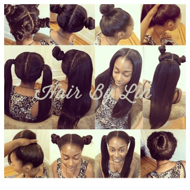 The Best This Sew In Is So Versatile V*X*N Sew In Hair Styles Pictures