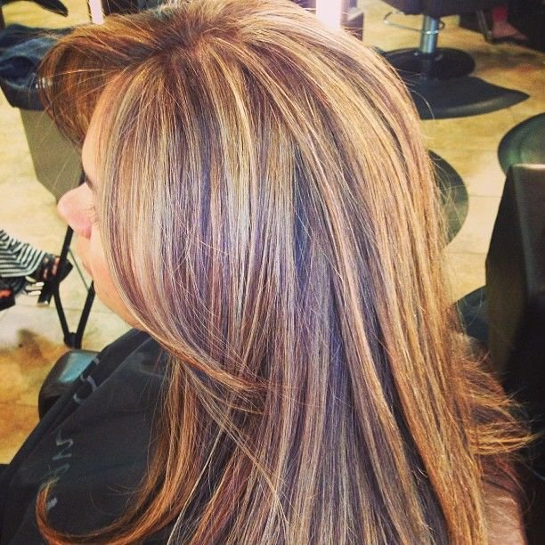 The Best 3 Color Highlights ♛ Нαιя Ѕтуℓєѕ Ι ℓσσνє ♛ Hair Styles Pictures