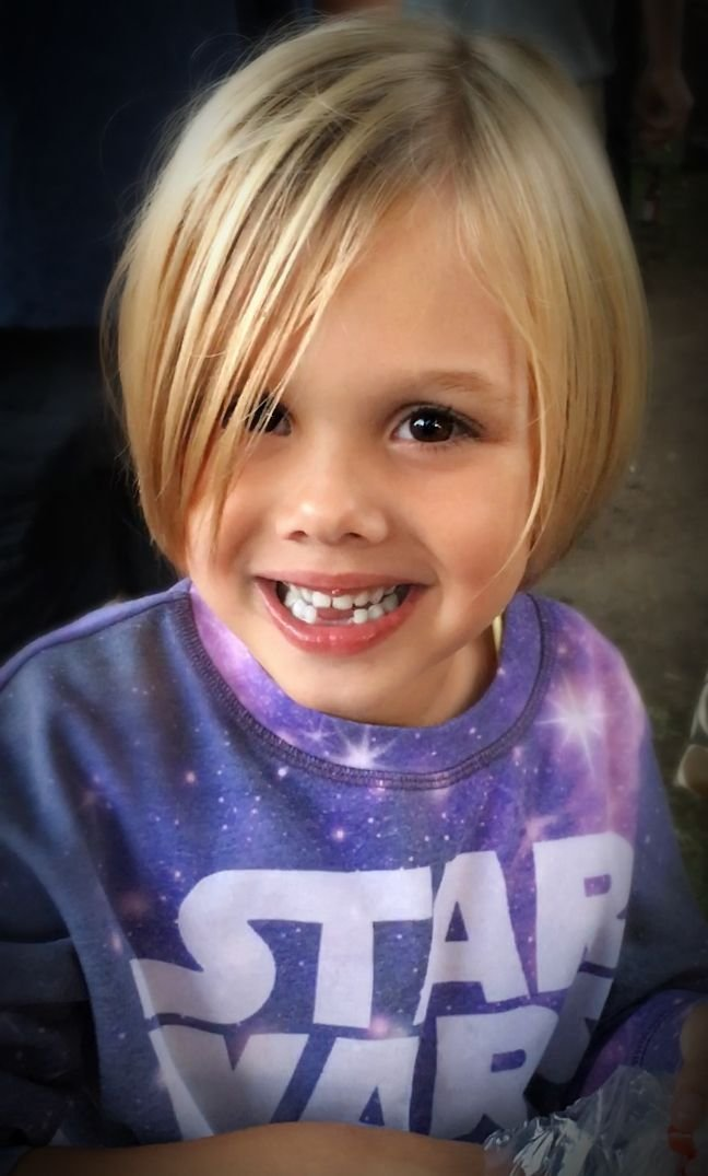 The Best Little Girl Bob Hairstyle Blonde Cutie 5 Year Old Girl Pictures