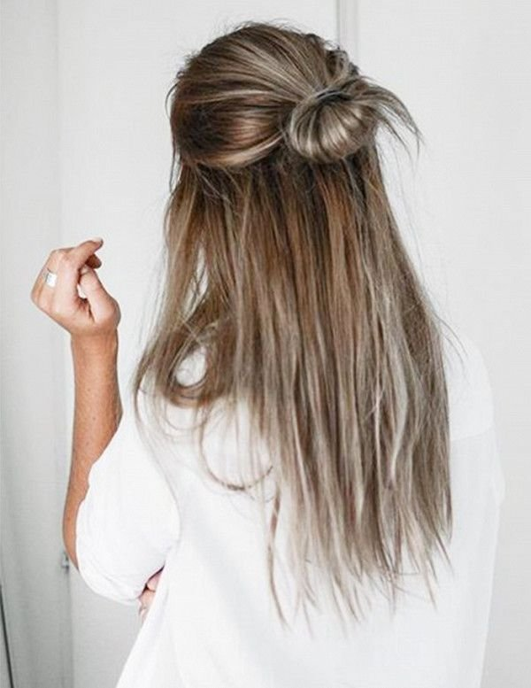 The Best 6 5 Minute Hairstyles For Long Hair Hair Hair Long Pictures