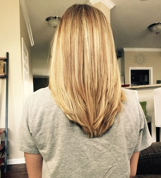 The Best Multitoned Mid Length Blonde Hair With Short Layers Pictures