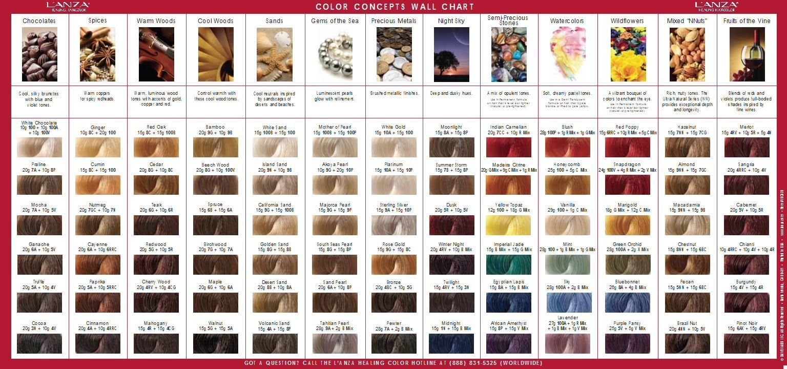 The Best L'anza Invites You To Enter Our Color Concept Contest And Pictures
