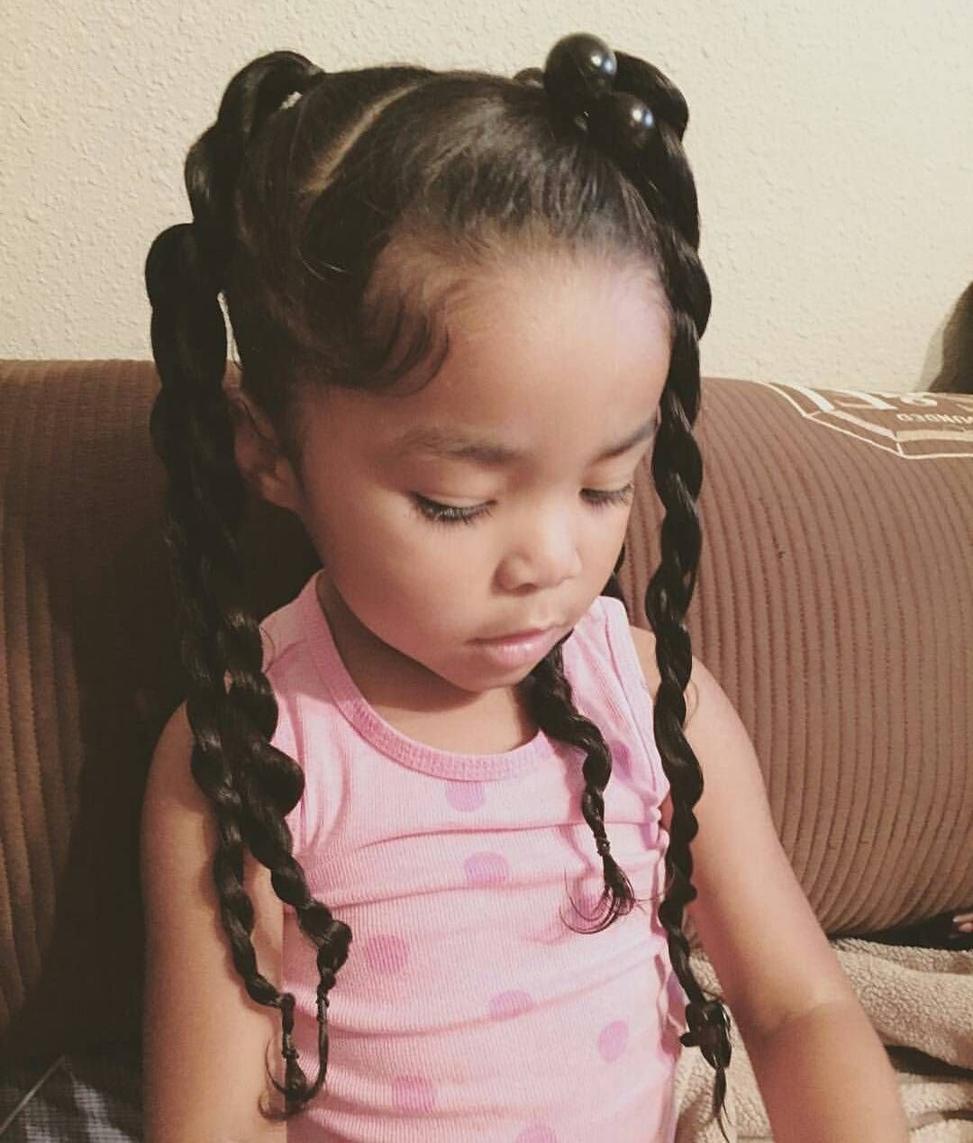 The Best Pin By Deanna Diamond On Adorable Kids In 2019 Mixed Kids Hairstyles Baby Girl Hairstyles Pictures