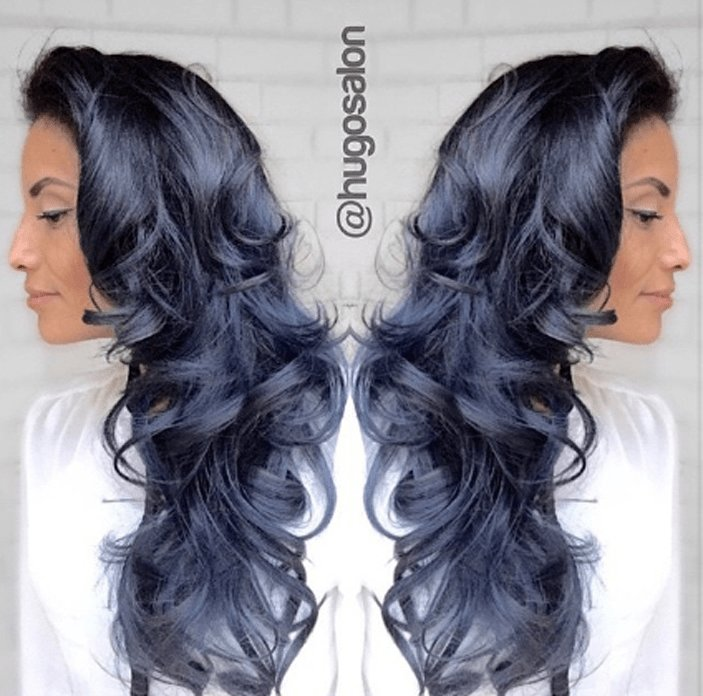 The Best Blue Steel Haircolor Formulas Denim Hair Hair Hair Color Blue Pictures