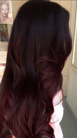 The Best The Subtle Ombre I Want Rich Brown To Red Tones Edited By Me Hair Advice Mahogany Pictures