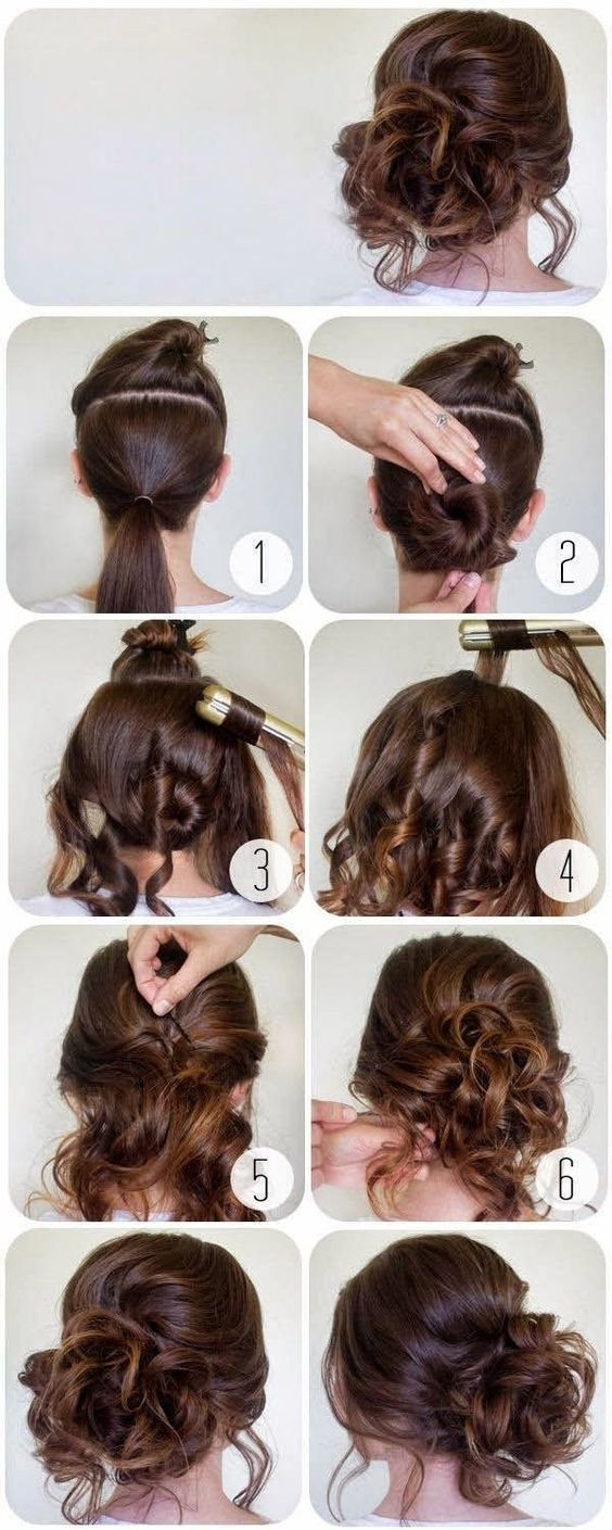 The Best 60 Easy Step By Step Hair Tutorials For Long Medium Short Hair Hairstyles Hair Styles Pictures