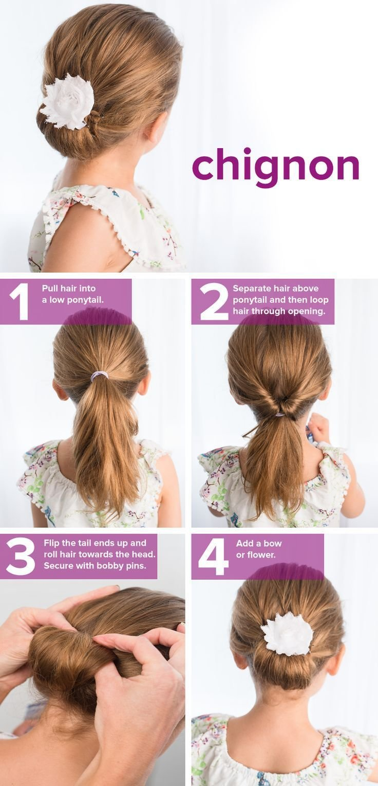 The Best 5 Fast Easy Cute Hairstyles For Girls Hair Make Up Pictures