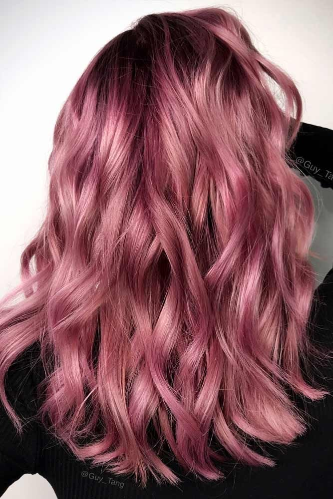 The Best 36 Breathtaking Rose Gold Hair Ideas You Will Fall In Love Pictures