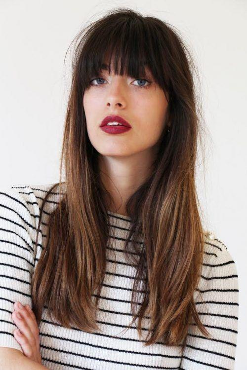 The Best 25 Most Beautiful Hairstyles With Bangs In 2018 Sensod Pictures