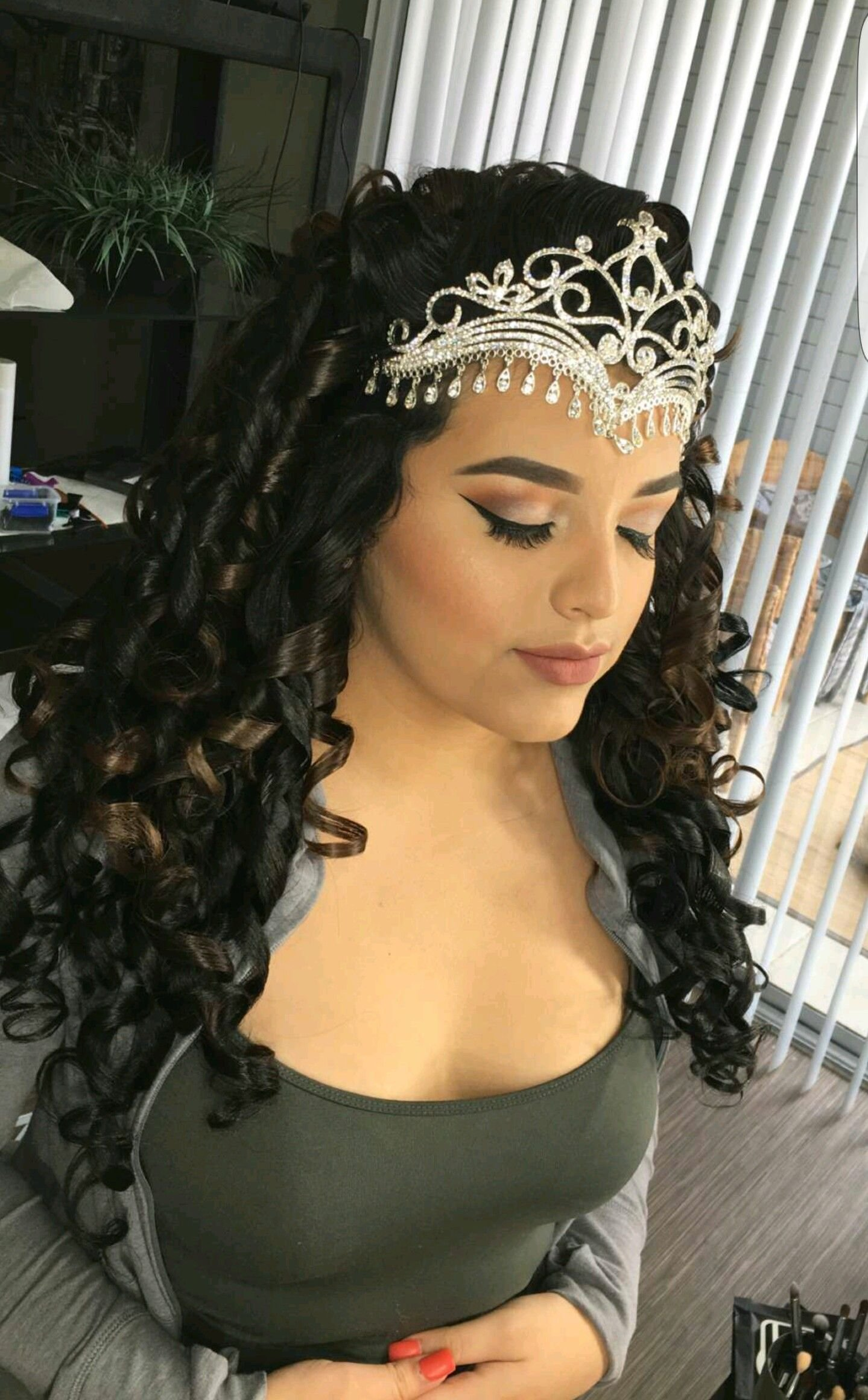 The Best Glambychristopher For Quinceñearas Quince Hairstyles Pictures