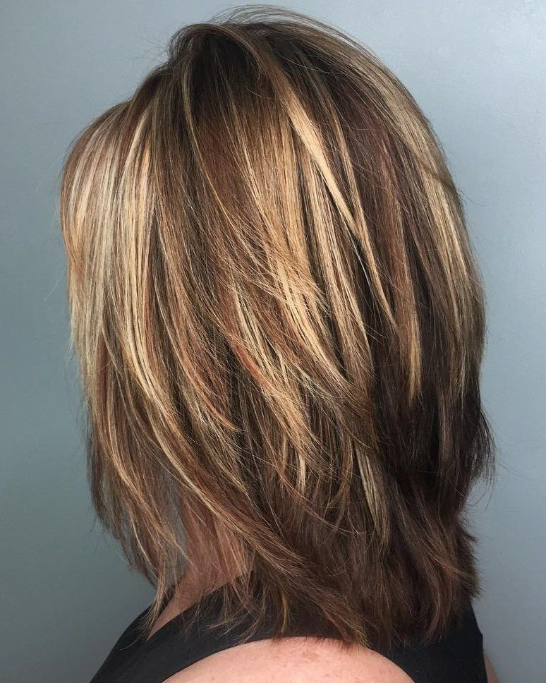 The Best 70 Brightest Medium Layered Haircuts To Light You Up Pictures