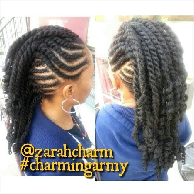 The Best Flat Twist Mohawk Protective Styles In 2019 Hair Pictures