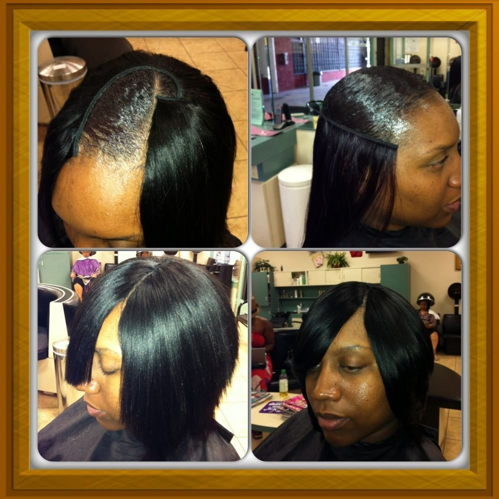 The Best Full Head Quick Weave W Invisible Part Designz By Pictures