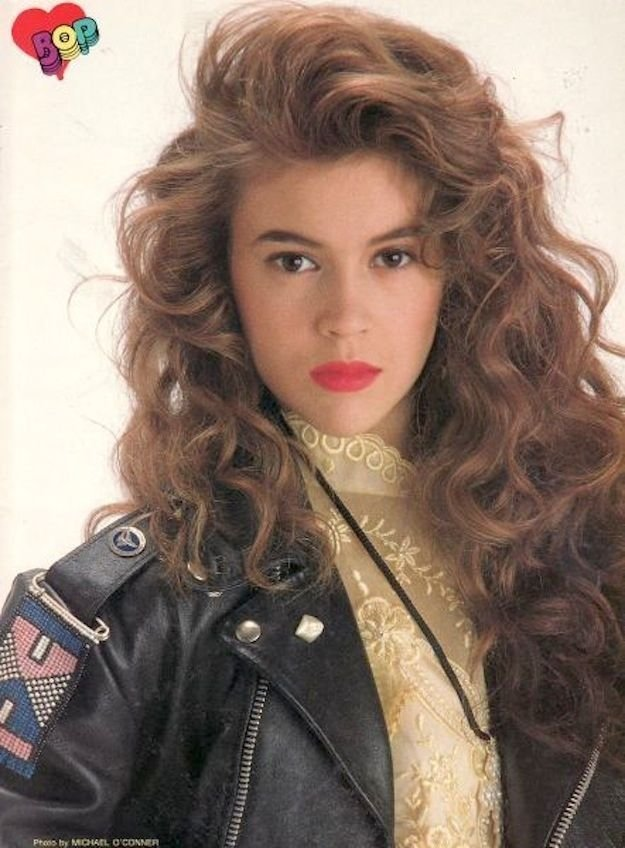 The Best 90S Hairstyle 90 S Pinterest Alyssa Milano Pictures