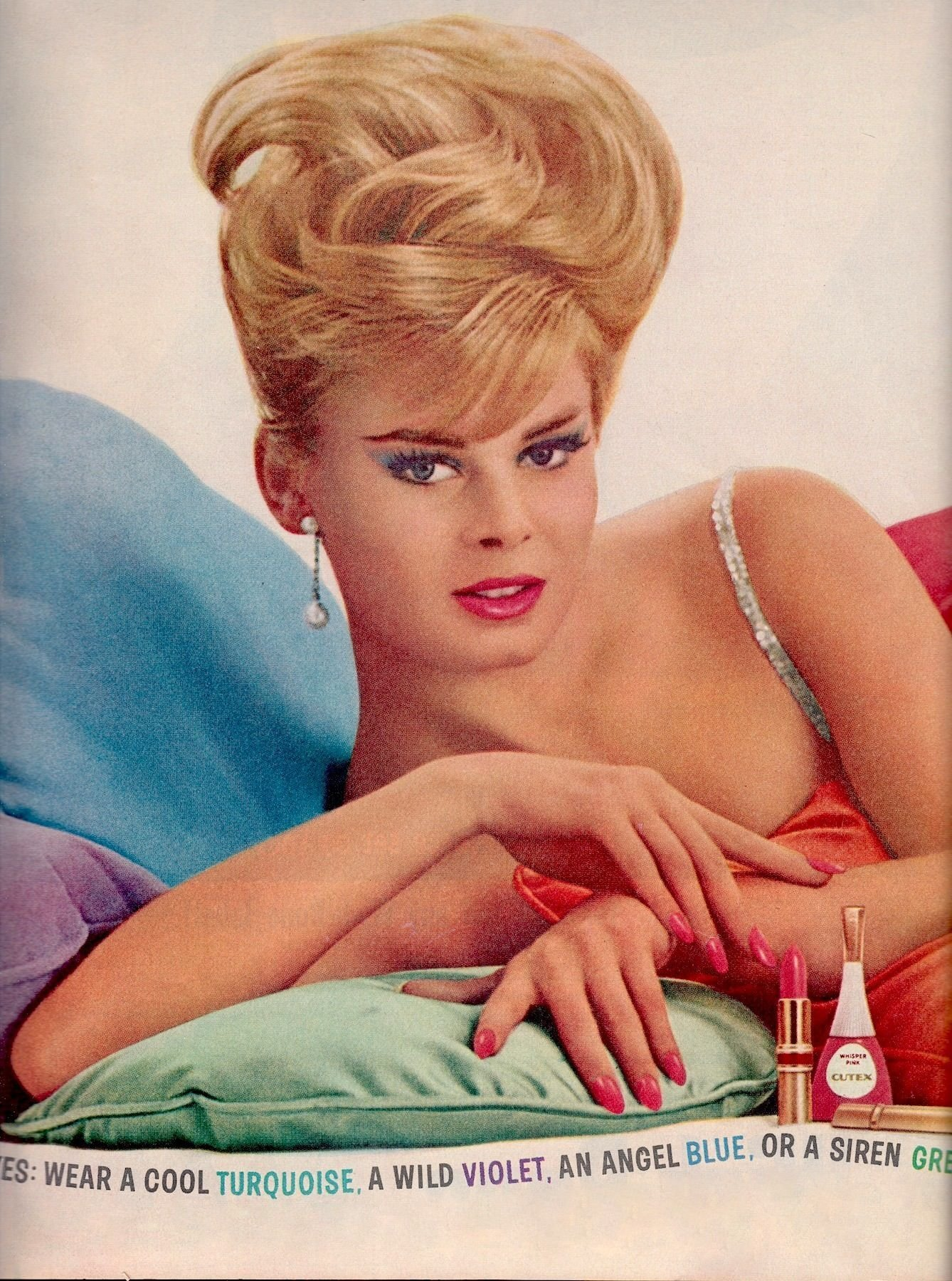 The Best 60 S Bouffant Hairdo Forever Female Cutex Nail Polish Pictures