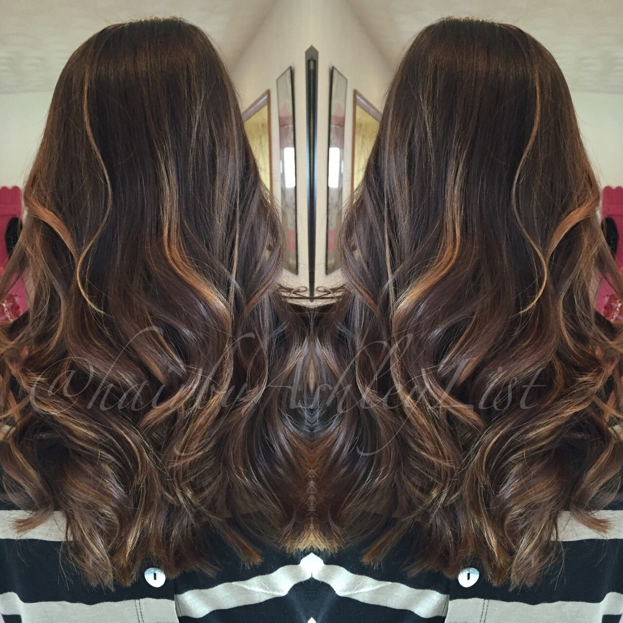 The Best Chocolate With Butterscotch Accents Base Color Redken Pictures