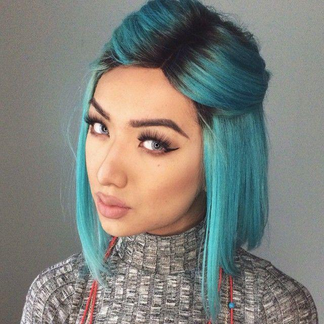 The Best 33 Incredible Summer Outfits To Wear Now Aqua Blue Hair Pictures