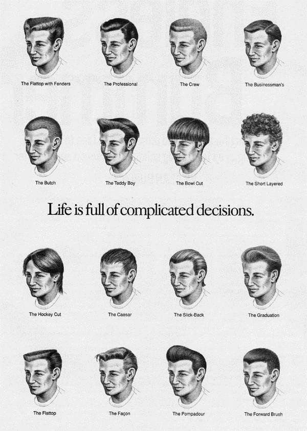 The Best Haircut For Men Names Names For Mens F*C**L Hair Styles Pictures