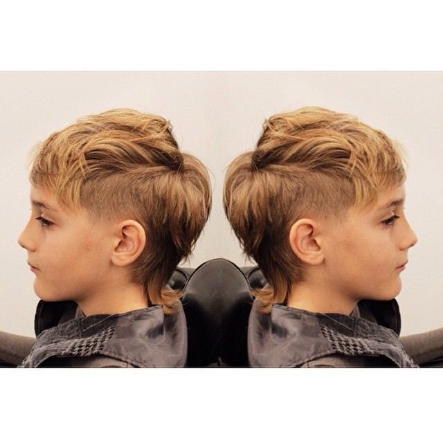 """The Best """"Mohawk Mullet For This Cool Guy By Our In House Barber Pictures"""