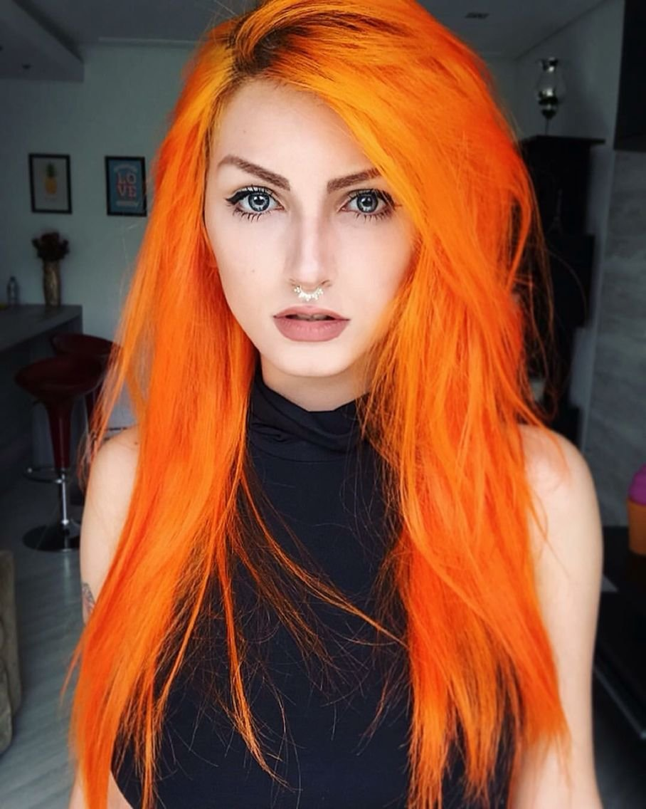 The Best Orange Hair Fantasy Hair Color Fantasy Hair Color Pastel Pictures