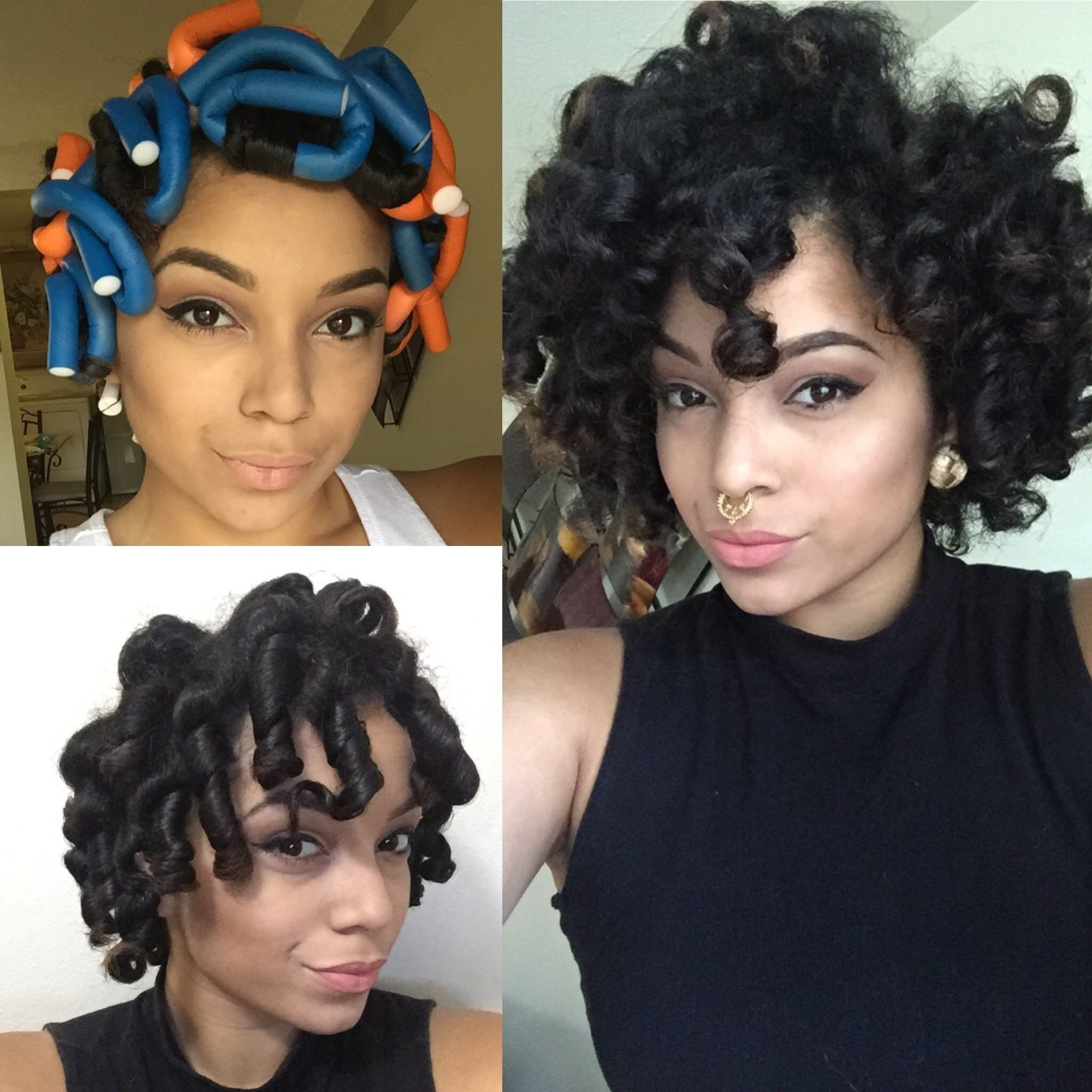 The Best Flexi Rod Set On Natural Hair Feat Dr Miracle S My Pictures