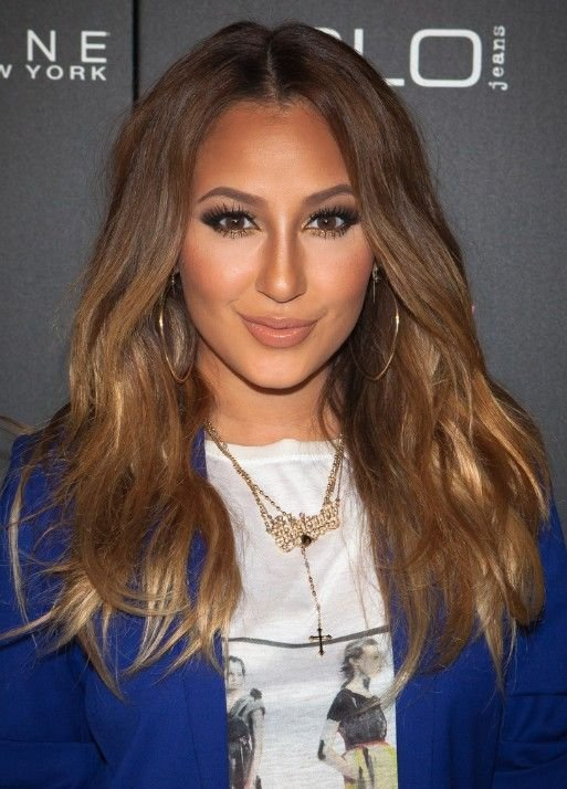 The Best Adrienne Bailon Brown Long Hairstyles Hair Long Hair Pictures