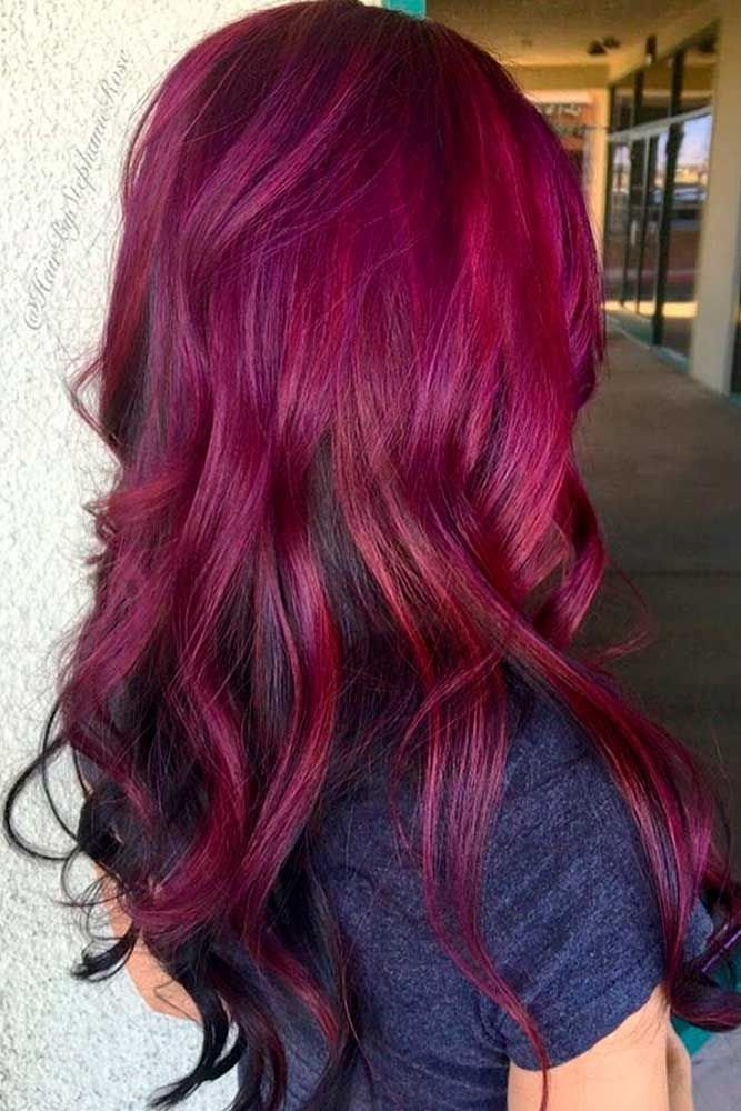 The Best 21 Loveliest Magenta Hair Color Ideas Hair Hair Pictures