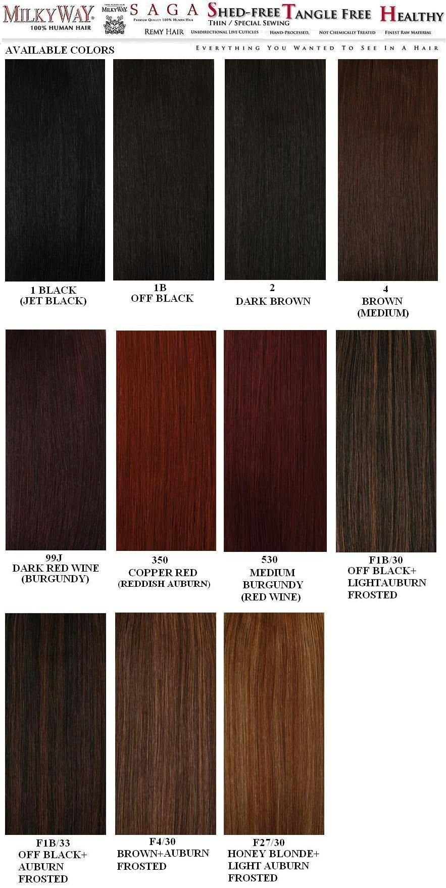 The Best Weave Hair Color Chart Sovinsl Weave Pinterest Weave Pictures