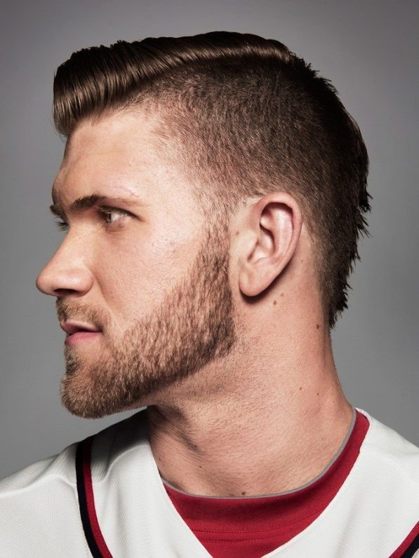 The Best Bryce Harper Haircut Short Hair Bryce Harper Haircut Pictures