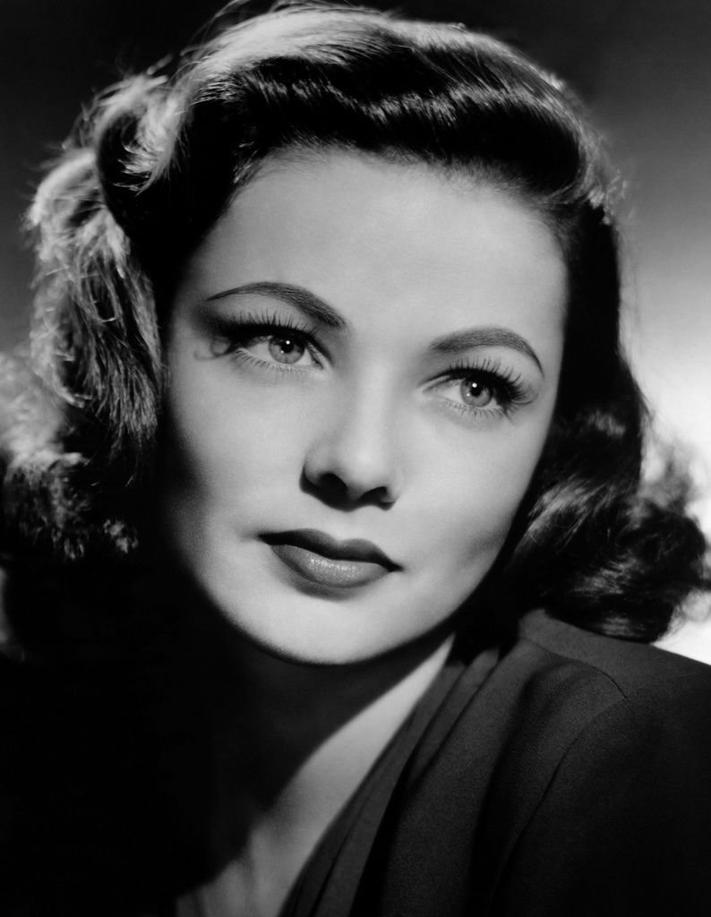 The Best Rockabilly Hairstyles Beauties Of Days Gone By 1940S Hairstyles Gene Tierney Vintage Pictures