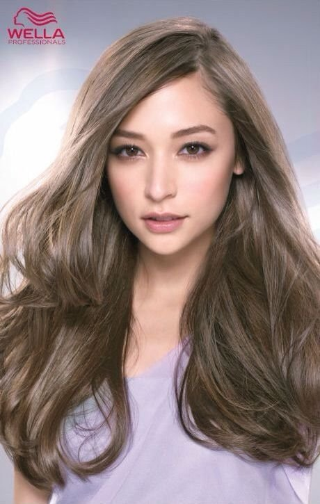 The Best Image Result For Cool Brown Asian Long Hair Styles Pictures