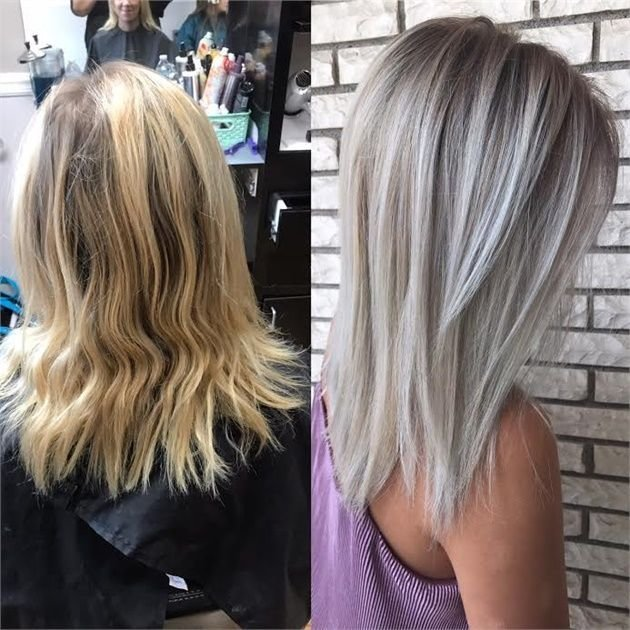 The Best Grown Out Gold To Brass Free And Bright Hair Color Pictures