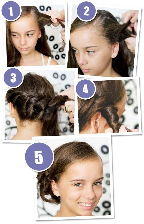 The Best 3 Quick And Easy Hairstyles Your Girl Will Love School Pictures
